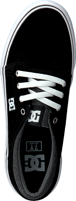 Kjøp DC Shoes Kids Trase Sd Shoe Black/Grey/White  Sko Online