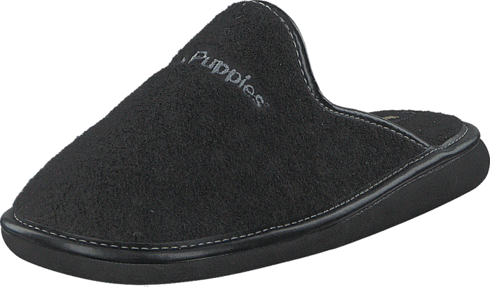 Kjøp Hush Puppies Felt Slipper BLACK Svarte Sko Online