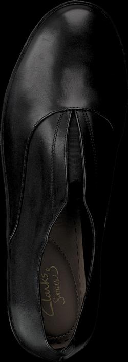 Kjøp Clarks Demi Grace Black Leather Svarte Sko Online
