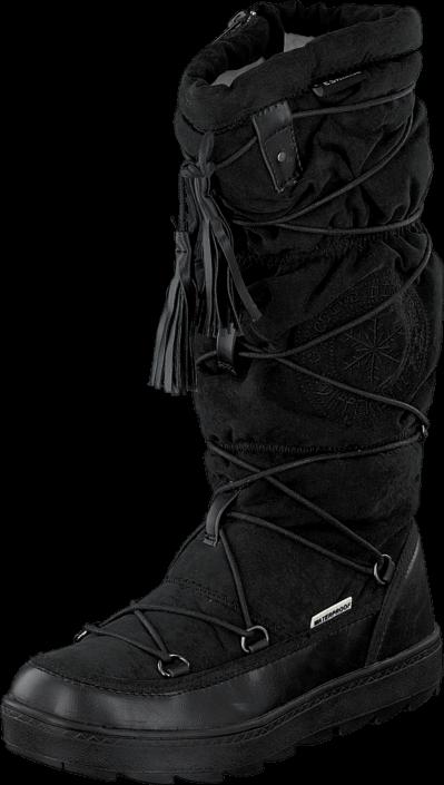 Kjøp Eskimo Frosty I Waterproof Black 06 Svarte Sko Online