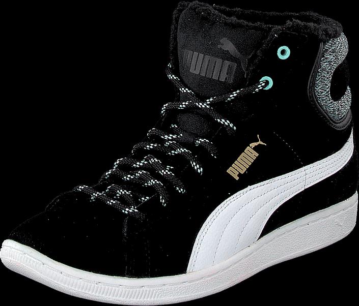 Kjøp Puma Puma Vikky Mid Marl Black Svarte Sko Online