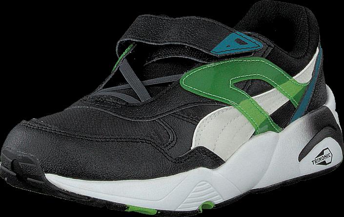 Kjøp Puma R698 Mesh-Neoprene V Kids Black Svarte Sko Online