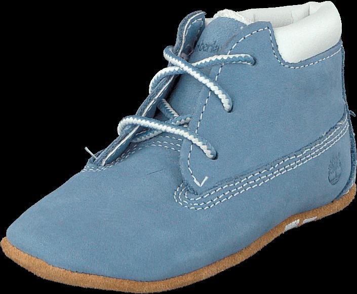 Kjøp Timberland Crib Bt W/Hat C9681R Blue Blå Sko Online