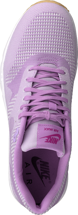 Kjøp Nike Wmns Air Max 1 Ultra Jcrd Fchs Glw/Fchs Flsh-White-Gm Yl Lilla Sko Online