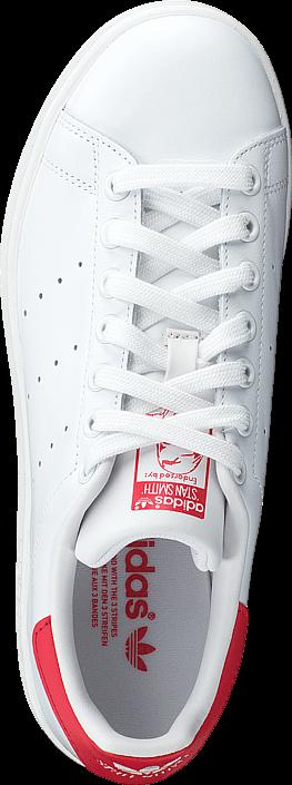 Kjøp adidas Originals Stan Smith Running White/Collegiate Red Hvite Sko Online