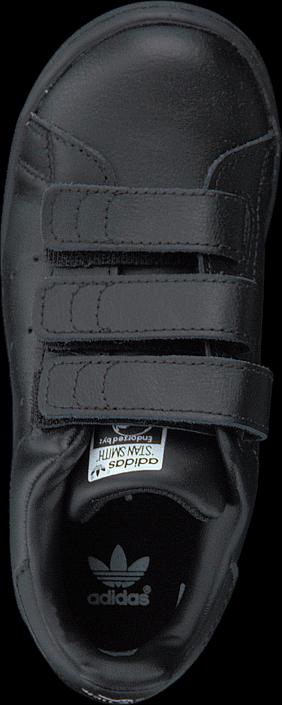 Kjøp adidas Originals Stan Smith Cf I Black/Black/Ftwr White Grå Sko Online