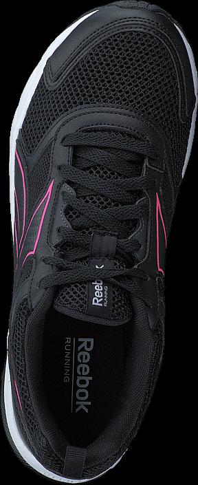 Kjøp Reebok Pheehan Run 4.0 Black/Coal/White/Poison Pink Grå Sko Online