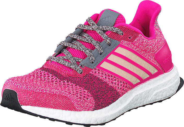 Kjøp adidas Sport Performance Ultra Boost St  W Shock Pink/Mineral Red Lilla Sko Online