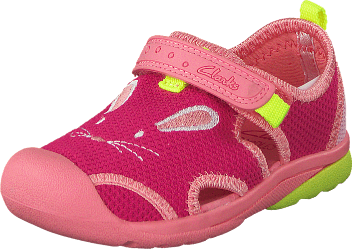 Kjøp Clarks Beach Molly Fst Pink Combi Rosa Sko Online