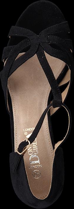 Kjøp Donna Girl 196084 Black Svarte Sko Online