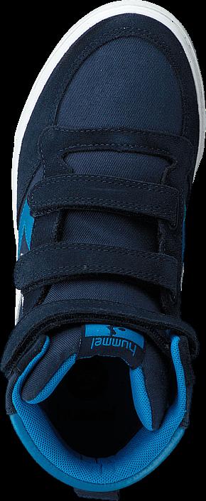 Kjøp Hummel Stadil leather junior high Dress blue Blå Sko Online
