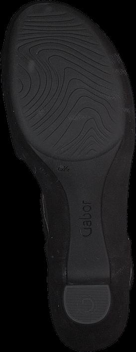 Kjøp Gabor 45.752.17 Black Brune Sko Online