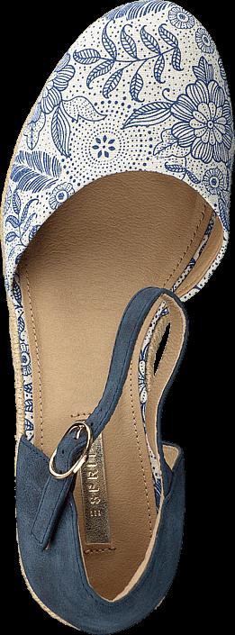 Kjøp Esprit 046EK1W008 Blue Brune Sko Online