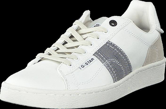 Kjøp G-Star Raw Barton Bright White Hvite Sko Online