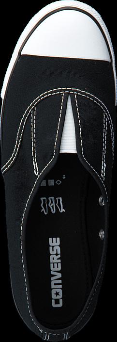 Kjøp Converse All Star Dainty Cove-Slip Black/Black/White Svarte Sko Online