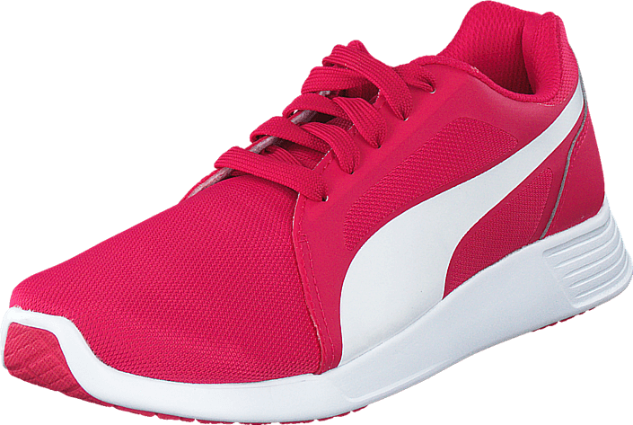 Kjøp Puma ST Trainer Evo Rose Red-White Rosa Sko Online