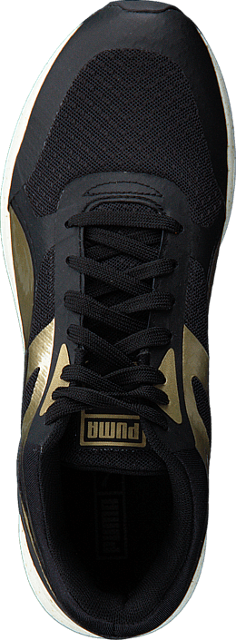 Kjøp Puma 698 Ignite Metallic Wns Black-Metallic Gold-White Beige Sko Online