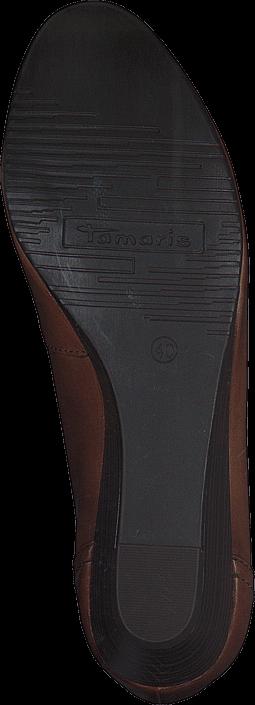 Kjøp Tamaris 1-1-22320-26 444 Nut Antic Brune Sko Online