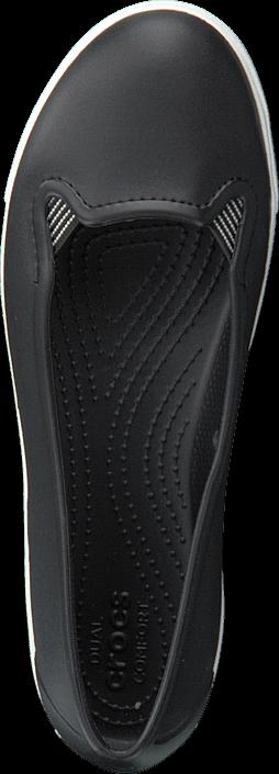 Kjøp Crocs CitiLane Flat W Black/White Grå Sko Online