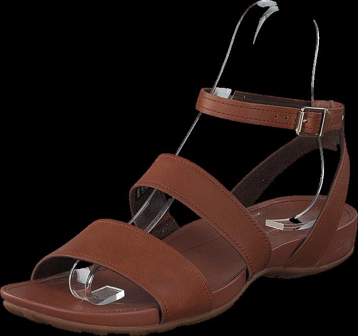 Kjøp Timberland Lola Bay Ankle Strap Dark Tan Brune Sko Online