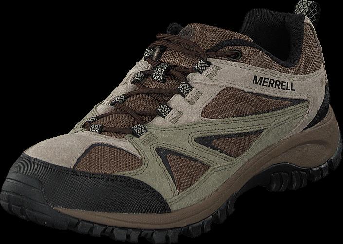 Kjøp Merrell Phoenix Bluff Putty Brune Sko Online