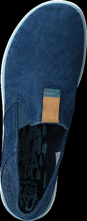 Kjøp Merrell Duskair Moc Blue Wing Blå Sko Online