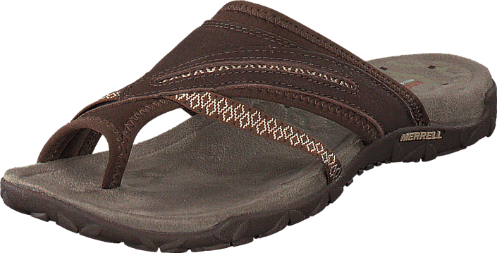 Kjøp Merrell Terran Post II Dark Earth Beige Sko Online