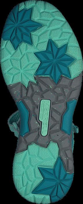 Kjøp Merrell ML-G Hydro Monarch Turquoise Turkis Sko Online