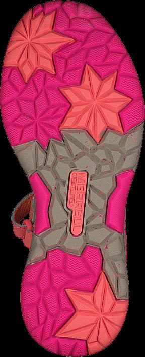 Kjøp Merrell ML-G Hydro Monarch Coral Rosa Sko Online