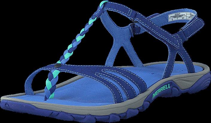 Kjøp Merrell Enoki Twist Light Blue Blå Sko Online