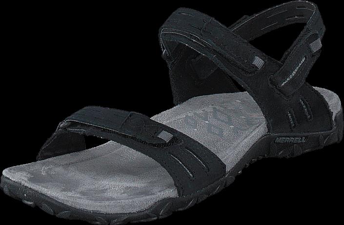 Kjøp Merrell Terran Strap II Black Svarte Sko Online