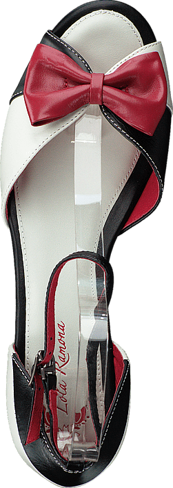 Kjøp Lola Ramona Lennie Black/white/red Røde Sko Online