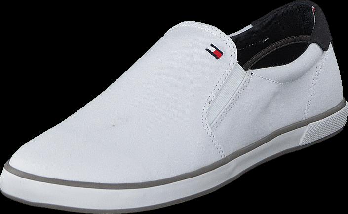 Kjøp Tommy Hilfiger Harlow 2D 100 Wht Hvite Sko Online