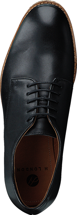Kjøp H by Hudson Hadstone Calf Black Svarte Sko Online