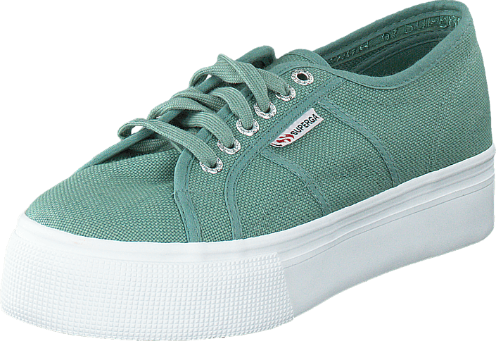 Kjøp Superga 2790ACOTW Linea Up and Down Green Malachite Grønne Sko Online