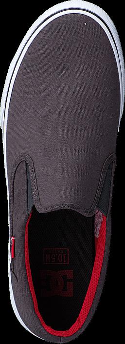 Kjøp DC Shoes Dc Trase Slip-On Tx Shoe Grey/Black/Red Brune Sko Online