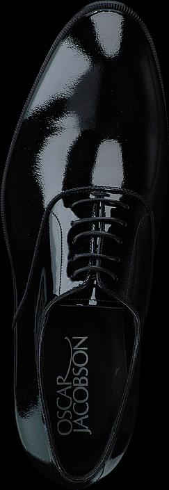 Kjøp Oscar Jacobson Prince 189 Plack Patent Svarte Sko Online