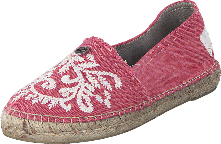 Kjøp Odd Molly Oddspadrillos Embroidered Misty Pink Rosa Sko Online