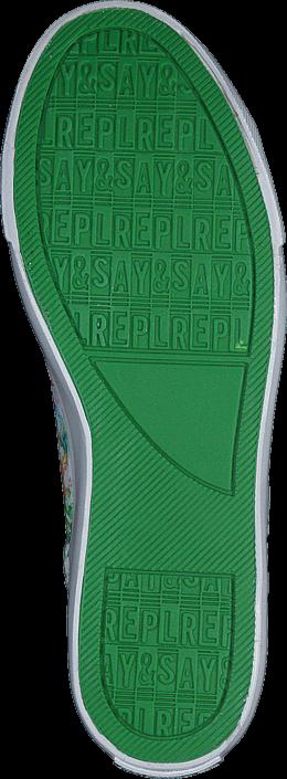 Kjøp Replay Taraval Pink Green Grønne Sko Online