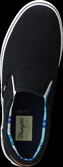 Kjøp Wrangler Legend Slip On Black Svarte Sko Online