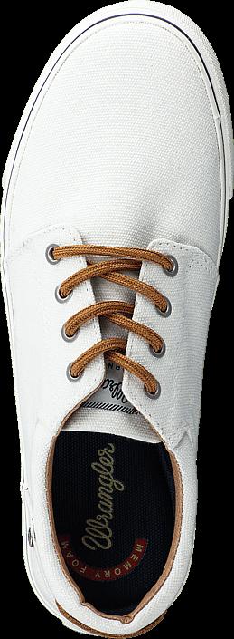 Kjøp Wrangler Icon City Off White Hvite Sko Online