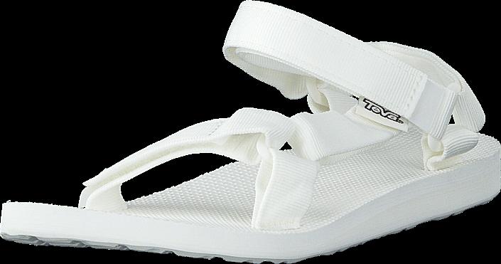 Kjøp Teva W Original Universal Bright White Hvite Sko Online