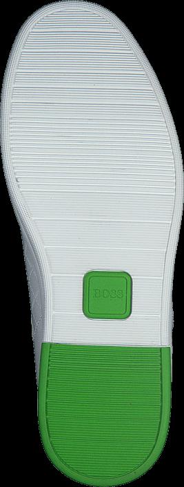 Kjøp Boss Green - Hugo Boss Ray Check white Hvite Sko Online
