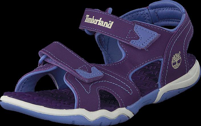 Kjøp Timberland Adventure Seeker 2 Strap Jr Purple/Periwinkle Blå Sko Online