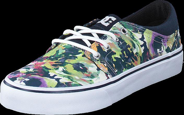 Kjøp DC Shoes Trase TX SE Multi (Flowers) Blå Sko Online