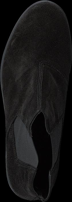 Kjøp Bianco Low Cut Suede Chelsea JJA16 Black Svarte Sko Online
