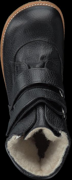Kjøp Angulus TEX-boot w. velcro straps Black/Black Svarte Sko Online