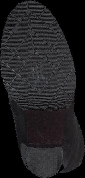 Kjøp Tommy Hilfiger GH HIGH LEATHER BOOT 990990 Black Grå Sko Online