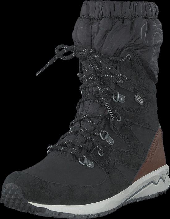 Kjøp Merrell Stowe Winter Tall WTPF Black Svarte Sko Online