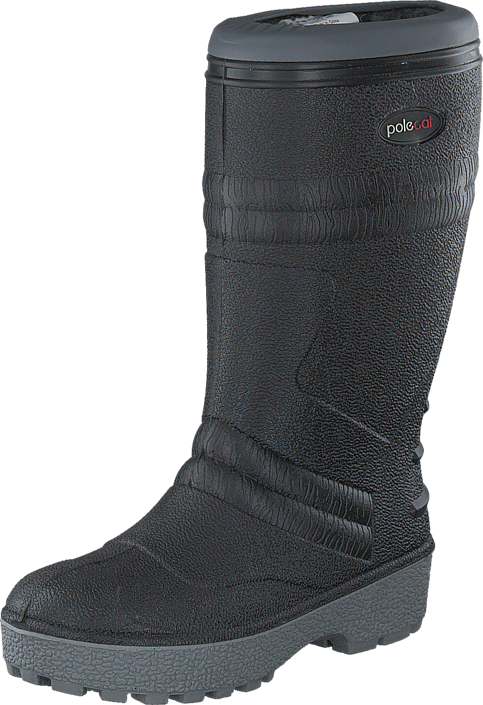 Kjøp Polecat 439-7010 Wool Lining Black Grå Sko Online